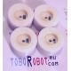 Комплект силиконовых колес Toborobot D30x15 (50 Shore A) для робота сумо диаметр 30мм ширина 15мм (4 колеса в комплекте)