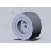 Комплект силиконовых колес Toborobot D30x15 (40 Shore A) для робота сумо диаметр 30мм ширина 15мм (4 колеса в комплекте)